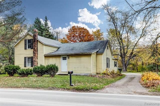 420 N Baldwin Road, Orion Twp, MI 48348 (#2200086043) :: Keller Williams West Bloomfield