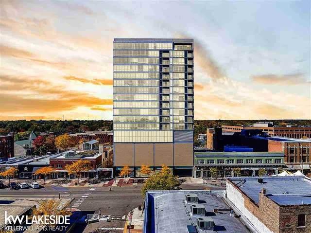 432 S Washington #1607, Royal Oak, MI 48067 (#58050026662) :: The Alex Nugent Team | Real Estate One