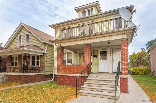2908 Amazon Street, Dearborn, MI 48120 (MLS #2200086423) :: The John Wentworth Group