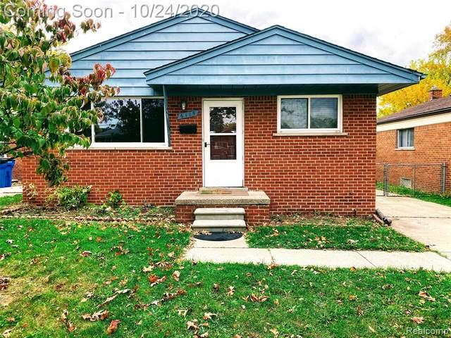 6115 N Waverly Street, Dearborn Heights, MI 48127 (MLS #2200086511) :: The John Wentworth Group