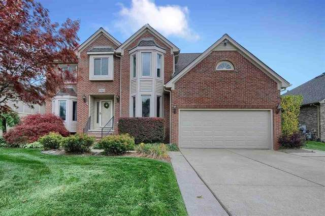 57831 Roman Drive, Washington Twp, MI 48094 (MLS #58050026827) :: The John Wentworth Group