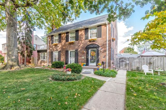 1681 22ND Street, Wyandotte, MI 48192 (#2200086627) :: The Mulvihill Group