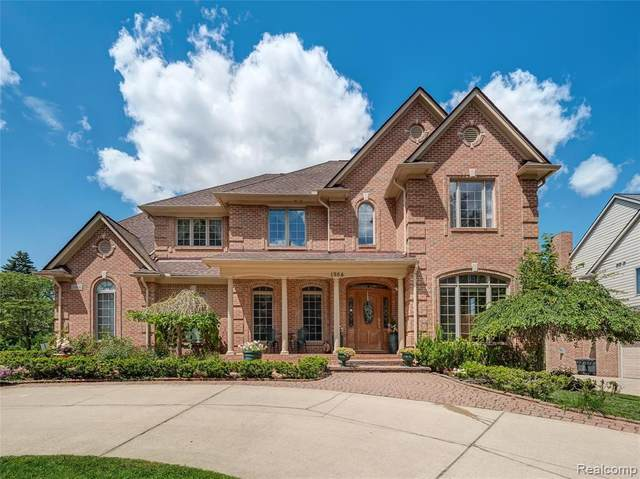 1954 Dell Rose Drive, Bloomfield Twp, MI 48302 (MLS #2200086787) :: The John Wentworth Group
