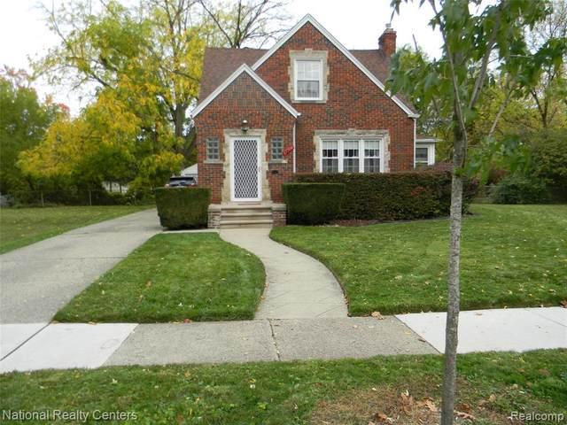 17706 Northrop Street, Detroit, MI 48219 (#2200086847) :: The Mulvihill Group