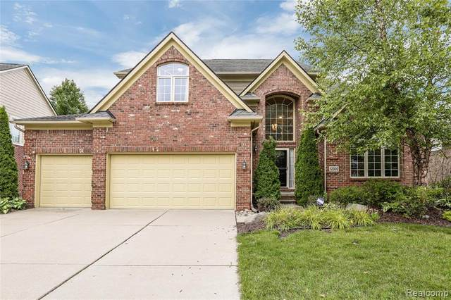 12302 Wendover Drive, Plymouth Twp, MI 48170 (MLS #2200087211) :: The John Wentworth Group