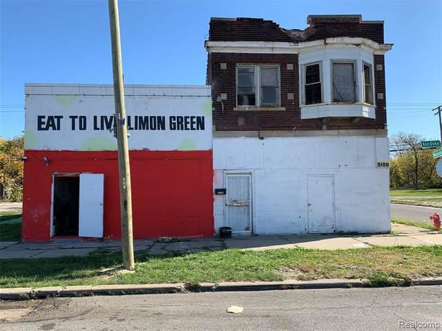 9100 Van Dyke Street, Detroit, MI 48213 (MLS #2200087221) :: The John Wentworth Group