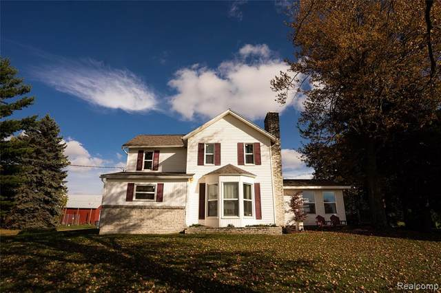 2801 Boyne Road, Marlette Twp, MI 48453 (MLS #2200087234) :: The John Wentworth Group