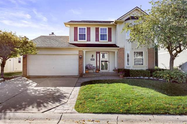 47318 Butler Lane, Novi City, MI 48374 (MLS #630000250831) :: The John Wentworth Group