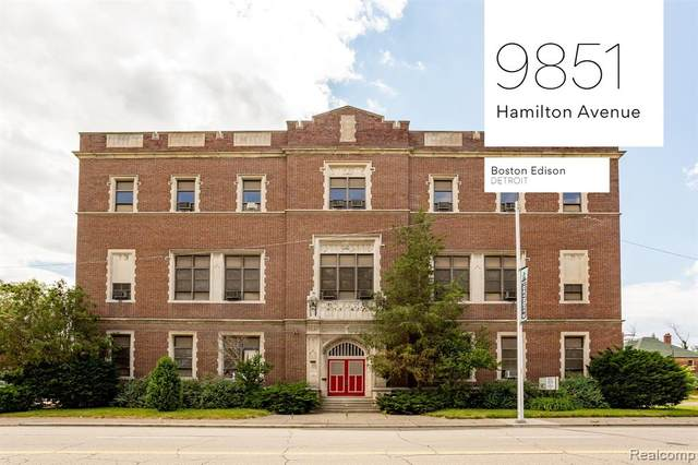 9851 Hamilton Avenue, Detroit, MI 48202 (#2200087698) :: Keller Williams West Bloomfield