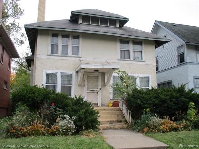 859 Edison Street, Detroit, MI 48202 (MLS #2200087976) :: The Toth Team
