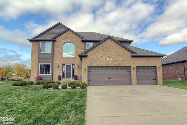 27161 Mirror Lake Dr, Chesterfield Twp, MI 48051 (MLS #58050027220) :: The Toth Team