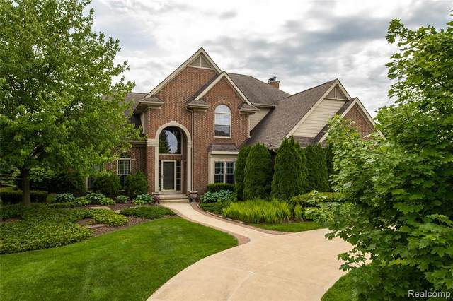 46961 Merion Circle, Northville Twp, MI 48168 (#2200088088) :: The Alex Nugent Team | Real Estate One