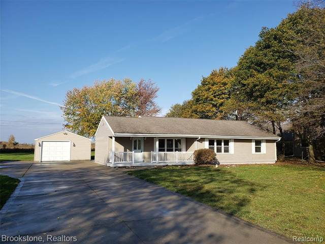 1449 N Van Vleet Road, Clayton Twp, MI 48433 (#2200088186) :: The Merrie Johnson Team