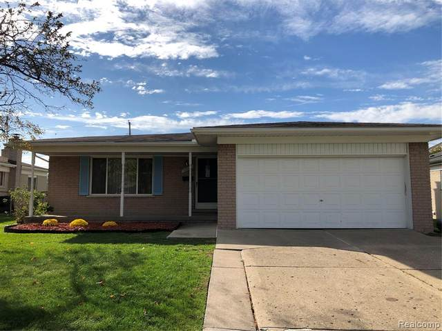 33711 Colfax Drive, Sterling Heights, MI 48310 (MLS #2200088281) :: The Toth Team