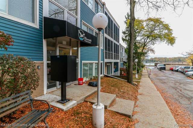 2419 Riverside Drive #307, Trenton, MI 48183 (#2200088326) :: The Alex Nugent Team | Real Estate One
