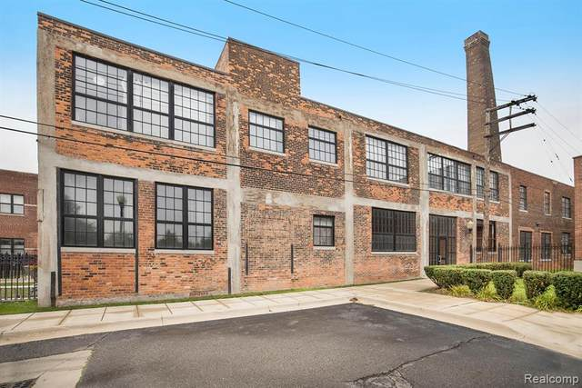 5766 Trumbull Unit#208 Street, Detroit, MI 48208 (#2200088434) :: Keller Williams West Bloomfield