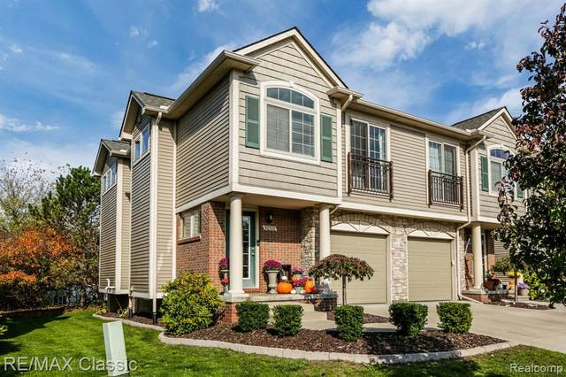 50510 Beechwood Court, Plymouth Twp, MI 48170 (#2200088480) :: Novak & Associates