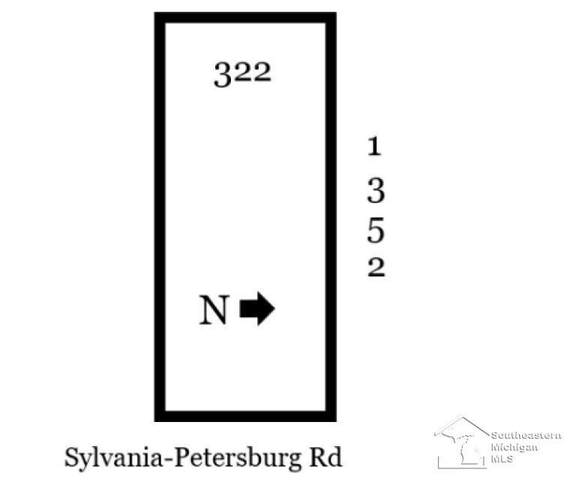Lot C Sylvania Petersburg, Summerfield Twp, MI 49270 (#57050027412) :: The Mulvihill Group