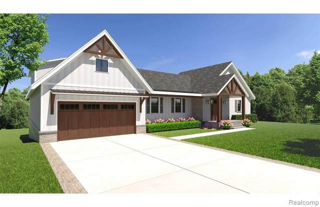 3767 Sherstone Place, Orion Twp, MI 48359 (#2200088927) :: The Merrie Johnson Team
