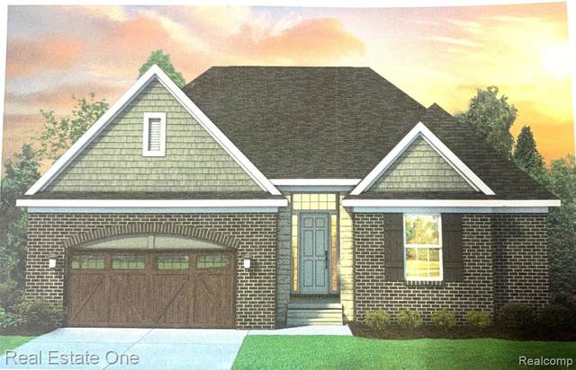 26681 Creek View Drive N, Chesterfield Twp, MI 48051 (#2200088969) :: The Merrie Johnson Team
