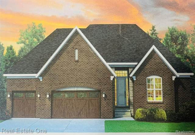 26663 Creek View Drive N, Chesterfield Twp, MI 48051 (#2200088985) :: The Merrie Johnson Team