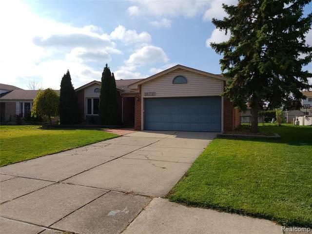 38737 Woodmont Drive, Sterling Heights, MI 48310 (#2200089084) :: Keller Williams West Bloomfield
