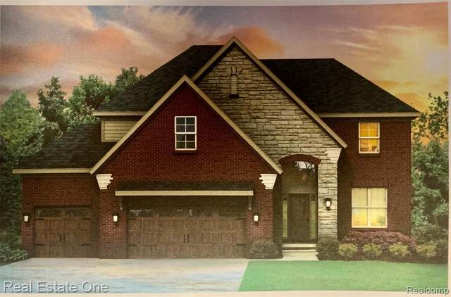 26645 Creek View Drive N, Chesterfield Twp, MI 48051 (#2200089413) :: The Merrie Johnson Team