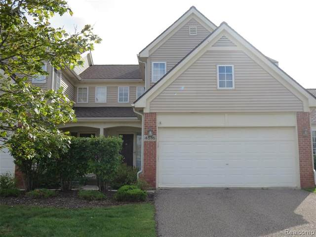 4516 Willow View Court, Genoa Twp, MI 48843 (#2200089634) :: Keller Williams West Bloomfield