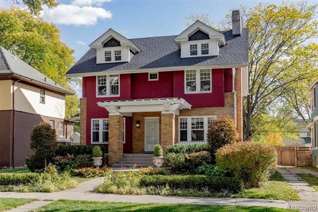 859 Longfellow Street, Detroit, MI 48202 (#2200089756) :: Keller Williams West Bloomfield
