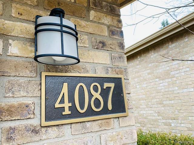 4087 Foxpointe Dr #107, West Bloomfield Twp, MI 48323 (#2200089875) :: GK Real Estate Team