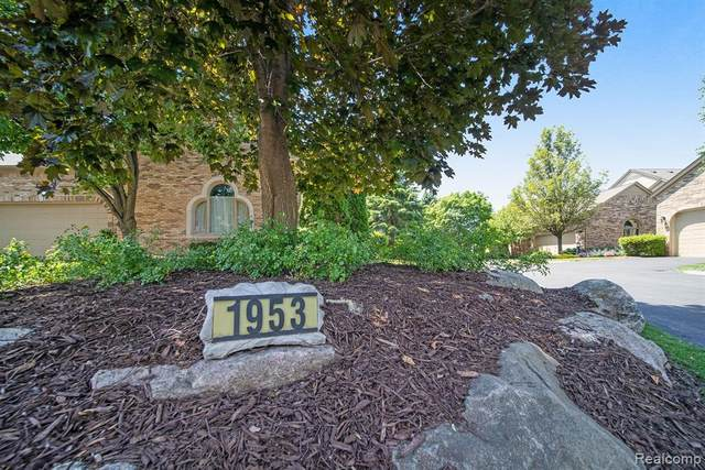 1953 Clearwood Court #671, Shelby Twp, MI 48316 (#2200090031) :: The Mulvihill Group