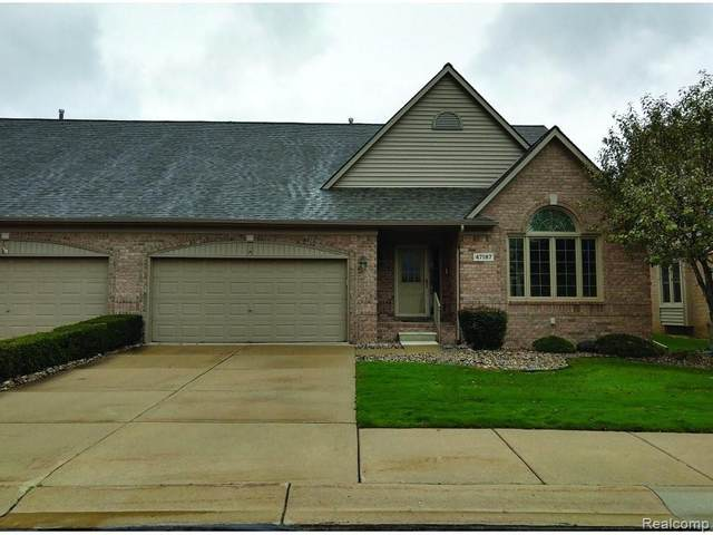 47187 Mission Valley E, Macomb Twp, MI 48042 (#2200090125) :: Keller Williams West Bloomfield