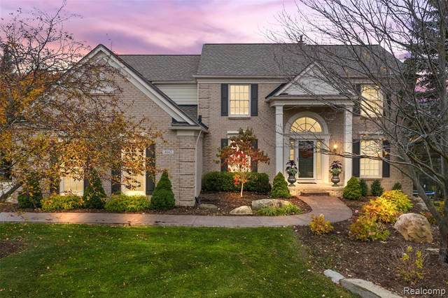 4642 Deer Springs Ct Deer Springs Court, Oakland Twp, MI 48306 (#2200090133) :: BestMichiganHouses.com