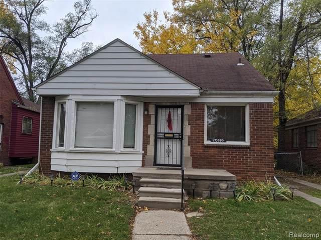 20519 Rosemont Avenue, Detroit, MI 48219 (#2200090220) :: Keller Williams West Bloomfield