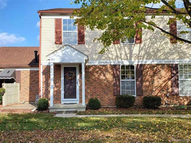 24613 Spring Lane #2, Harrison Twp, MI 48045 (#2200090414) :: RE/MAX Nexus