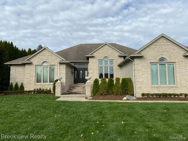 12995 Creekview Drive, Shelby Twp, MI 48315 (MLS #2200090827) :: The Toth Team