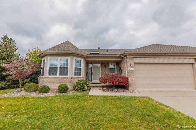 41143 Chancellor Crt, Clinton Twp, MI 48038 (#2200091145) :: Novak & Associates