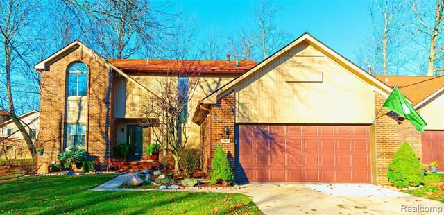 7367 Pepper Creek, West Bloomfield Twp, MI 48322 (#2200091190) :: Keller Williams West Bloomfield