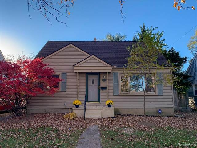 1264 S Harris Road, Ypsilanti Twp, MI 48198 (#2200091421) :: The Alex Nugent Team | Real Estate One