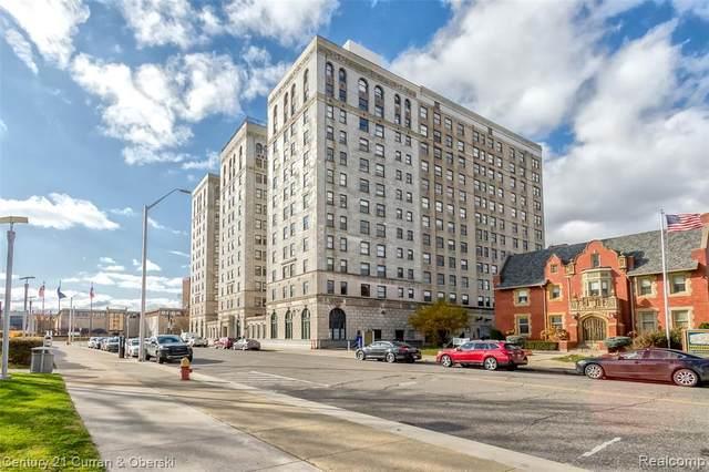 15 E Kirby St Apt 411, Detroit, MI 48202 (#2200091584) :: The Alex Nugent Team | Real Estate One