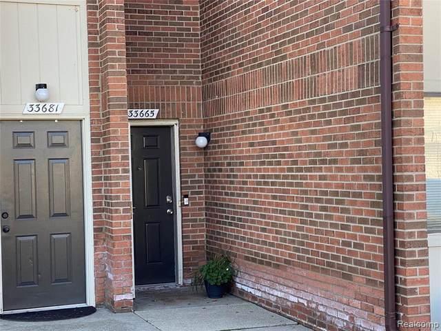 33665 Pondview Circle, Livonia, MI 48152 (#2200091746) :: Robert E Smith Realty