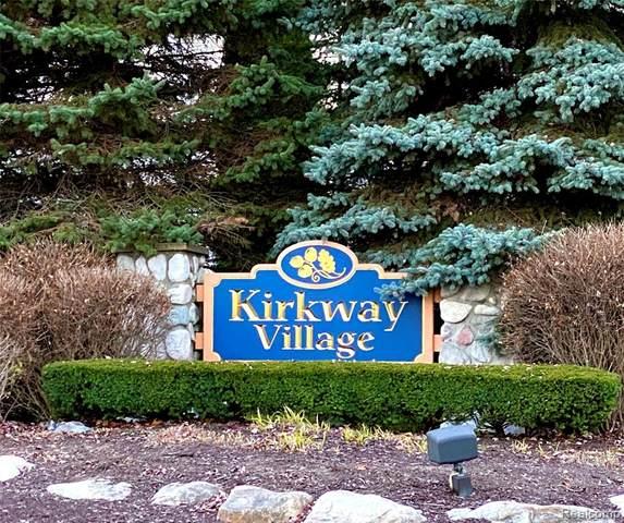 26803 Kirkway Circle #19, Woodhaven, MI 48183 (#2200091950) :: Novak & Associates