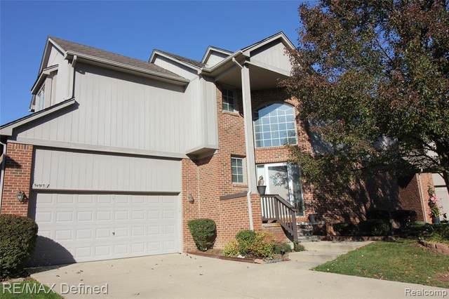 54915 Winter Court, Shelby Twp, MI 48316 (#2200091992) :: Robert E Smith Realty