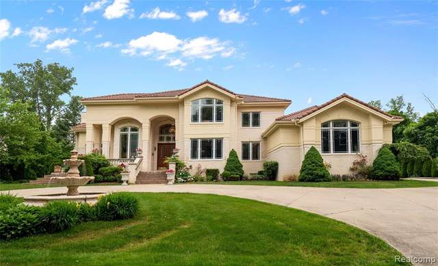 7421 Wing Lake Road, Bloomfield Twp, MI 48301 (#2200092331) :: The Mulvihill Group
