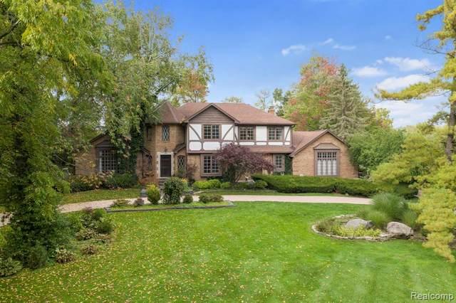 284 Woodwind Drive, Bloomfield Hills, MI 48304 (#2200092343) :: Robert E Smith Realty