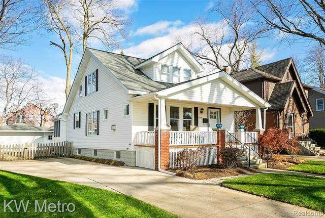 919 E 2ND Street, Royal Oak, MI 48067 (#2200092770) :: Keller Williams West Bloomfield