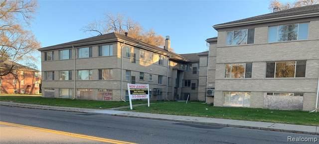 2721 W Mcnichols Road #132, Detroit, MI 48221 (#2200093307) :: The BK Agency