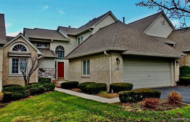 140 Hampton Court, Northville, MI 48168 (#2200093431) :: NextHome Showcase