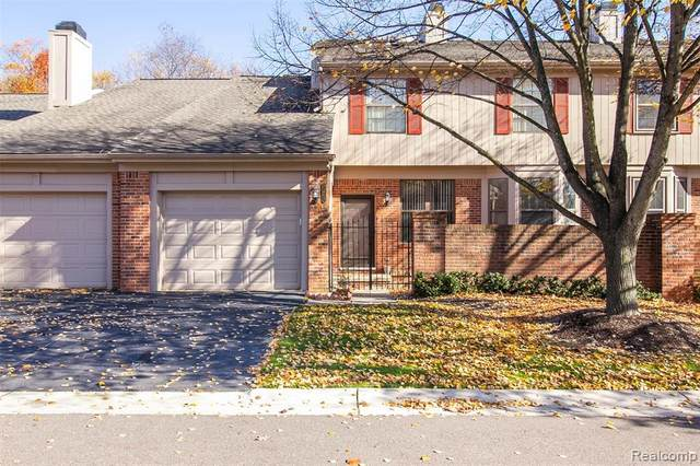 7203 Danbrooke, West Bloomfield Twp, MI 48322 (#2200093457) :: RE/MAX Nexus