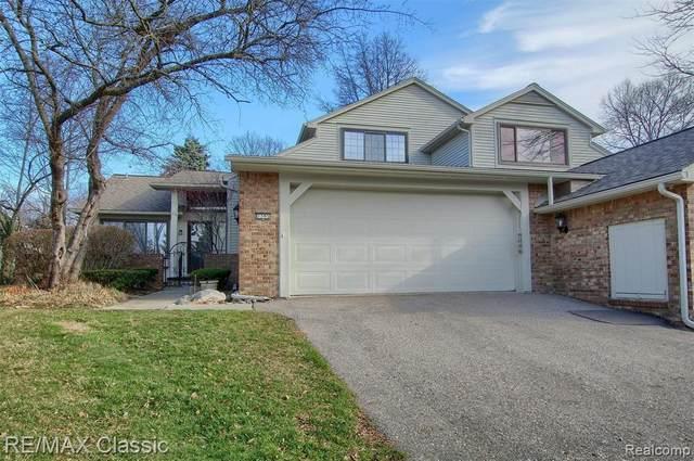7395 W Bridge Way Road, West Bloomfield Twp, MI 48322 (#2200093685) :: The Alex Nugent Team   Real Estate One